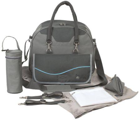 Bo Jungle previjalna torba B-City Grey, siva