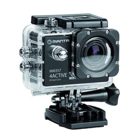 Manta aktivna športna kamera MM357 4K ACTIVE
