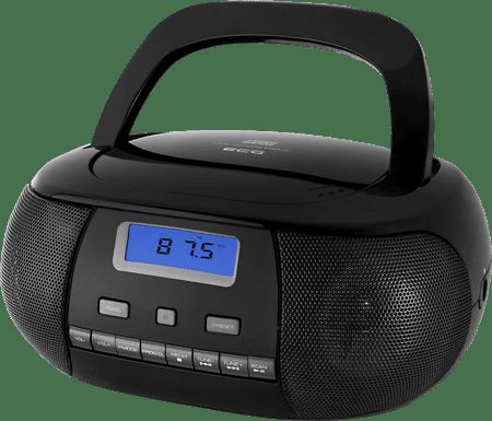 ECG CDR 500 Hordozható rádió, Fekete