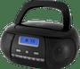 1 - ECG CDR 500 Hordozható rádió, Fekete