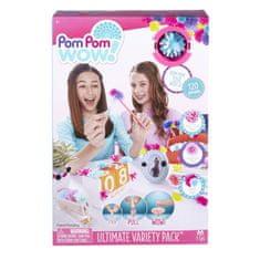 TM Toys Pom Pom Wow nalepovacie strapce 120 ks