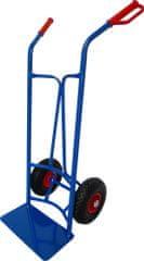 J.A.D. TOOLS ročni viličar za okrogle posode, napihljiva kolesa, 260 mm