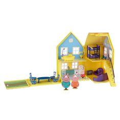 TM Toys Peppa Pig - domeček de Lux + 4 figurky a příslušenství