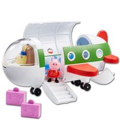 TM Toys Peppa Pig - letadlo + figurka
