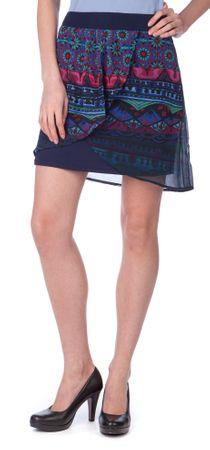 Desigual ženske suknje Erika 42 plava