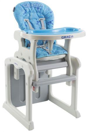 Babypoint Jídelní židlička Gracia, modrá