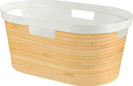 CURVER košara za čisto rublje Infinity Bambus 39 l