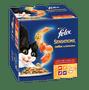 2 - Felix Sensations Jellies hrana za mačke, mesni izbor, 24x 100 g