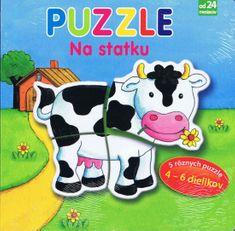 autor neuvedený: Na statku – Puzzle