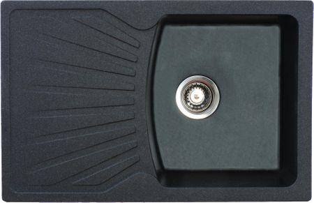Metalac X Granit QUADRO PLUS fekete