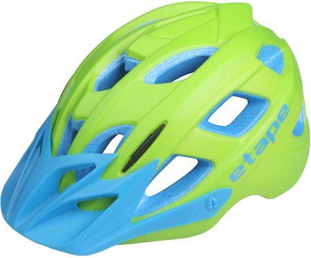 Etape kolesarska čelada Joker, zelena/modra (48-53 cm)