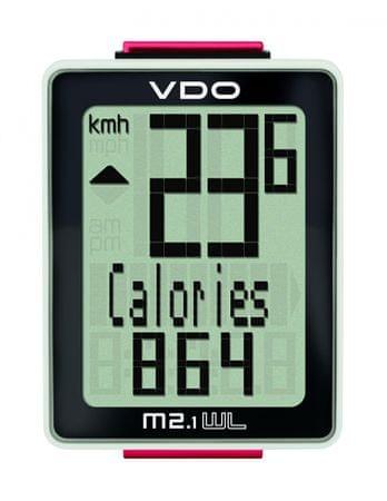 VDO M2.1 WL Analóg sebességmérő