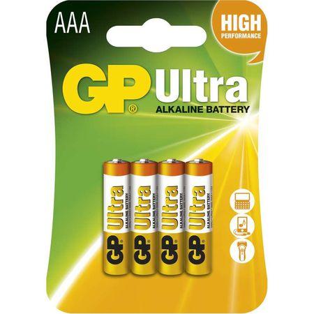 GP baterija 24AU, 4 kosi
