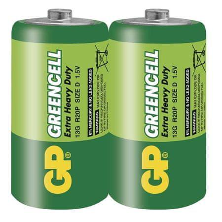 GP baterija 13G, 2 kosa, folija