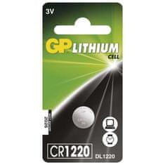 GP baterija CR1220, 1 kos