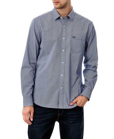528a42bd1bc9 Timeout pánská košile M tmavo modrá - Parametre