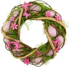 Seizis Veľkonočný veniec ružový