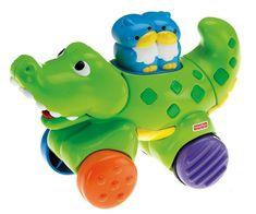 Fisher-Price Krokodyl na kółkach N8161
