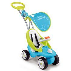 Smoby Bubble Go Wózek Jeździk z kierownicą dźwiękową niebieski 720101