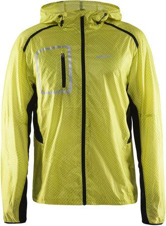 Craft muška jakna Focus 2.0 Hood, žuta, L