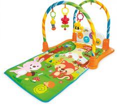 Buddy Toys Mata dla dzieci z tunelem