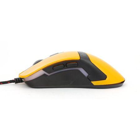 Omega Gaming miška VARR VARR OM-270 3200 DPI, 6D, rumena