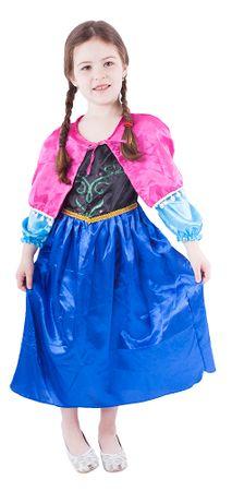 Rappa Kostým princezná ľadové kráľovstvo M