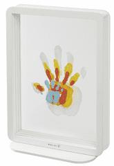 BabyArt ramka Superposed Handprints White