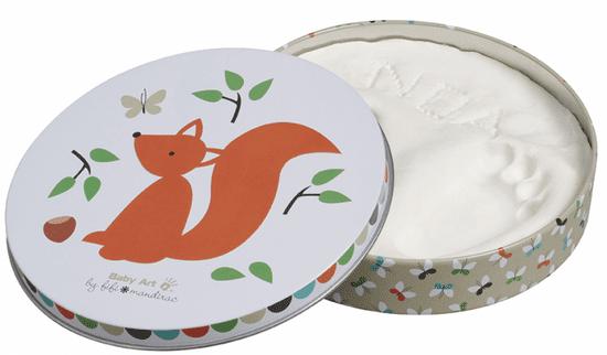 BabyArt Sada pro otisk Magic Box, Squirrel (limitovaná edice)