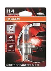 Osram 12V H4 60/55W P14.5s 1ks Night Break Unlimited Laser Blister