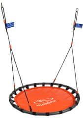 Hudora viseča gugalnica gnezdo, ALU, 120, oranžna