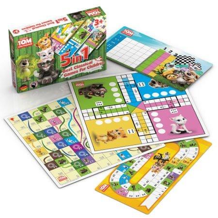 Talking Friends Talking Tom és barátai - 5az1ben: A legjobb klasszikus játékok gyerekeknek.
