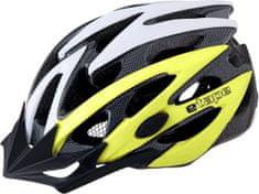 Etape Kask rowerowy Biker Yellow Fluo