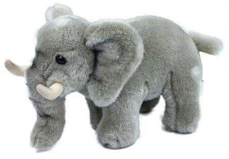 Rappa Plüss elefánt, 22 cm