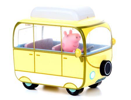 TM Toys Świnka Peppa, Kamper z figurką