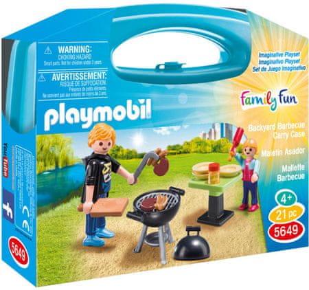 Playmobil 5649 Prijenosna kutija - Vrtni roštilj