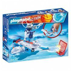 Playmobil 6833 Jégrobi a korongkilövőben