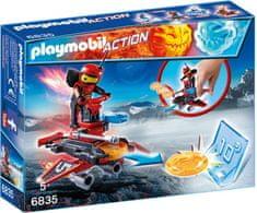 Playmobil Firebot z wyrzutnią dysków 6835