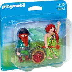 Playmobil 6842 Duo Pack Elf i krasnal