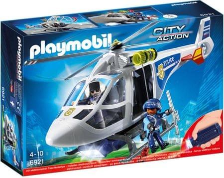Playmobil 6921 Policijski helikopter s LED svjetiljkom