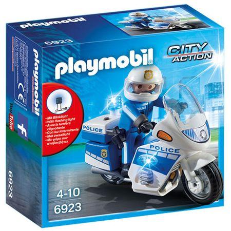 Playmobil 6923 Policijski motor s svjetiljkom