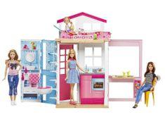 Mattel Barbie dům 2 v 1 s panenkou - rozbaleno
