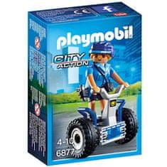 Playmobil 6877 Policajac na segway-u