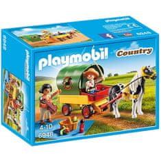 Playmobil Piknik s ponijem i kolima (6948)