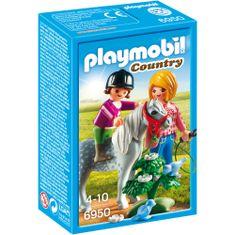 Playmobil Šetnja s ponijima (6950)