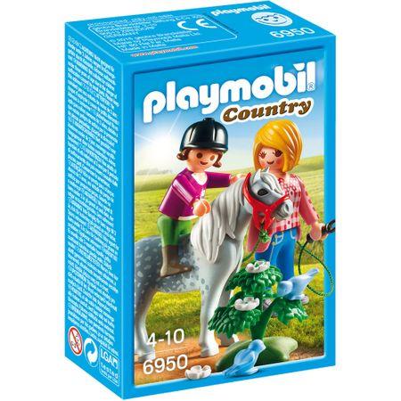 Playmobil Sprehod s ponijem (6950)