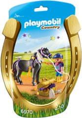 Playmobil Jahač i poni s zvjezdicama (6970)