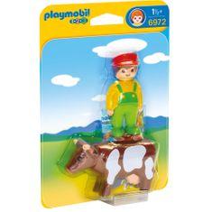 Playmobil 6972 Rolnik z krową