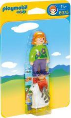 Playmobil 6975 Dziewczynka z kotem