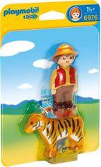 Playmobil 6976 Ranger z tygrysem